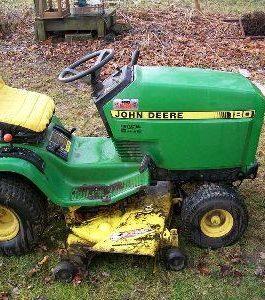 1986 John Deere180 LAWN Tractor Service Repair Manual