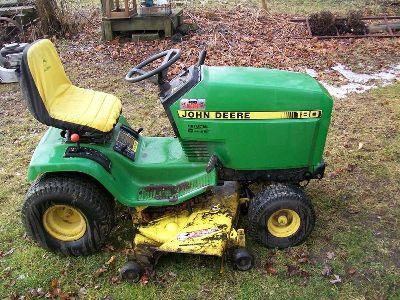 1986 John Deere Model 180 Lawn Tractor Service Repair Manual pdf