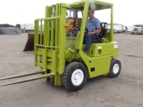 Clark C500 Y 45 Forklift Workshop Service Repair Manual