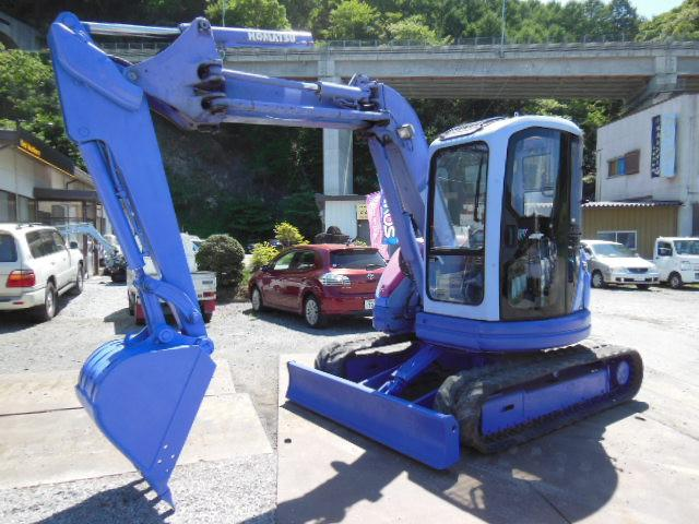 Komatsu PC50UU-2E Mini Excavator Operator Manual Downlaod
