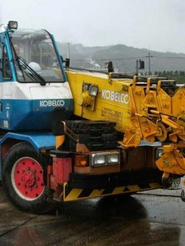 Kobelco crane type RK 70 service manual