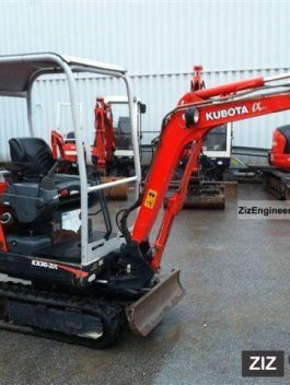 2001 KUBOTA KX36-2 MINI DIGGER WORKSHOP SERVICE MANUAL
