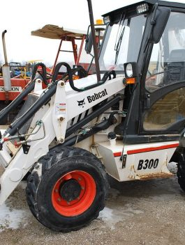 2003 Bobcat B300 Backhoe Loader Workshop Service Repair Manual S/No :572301030