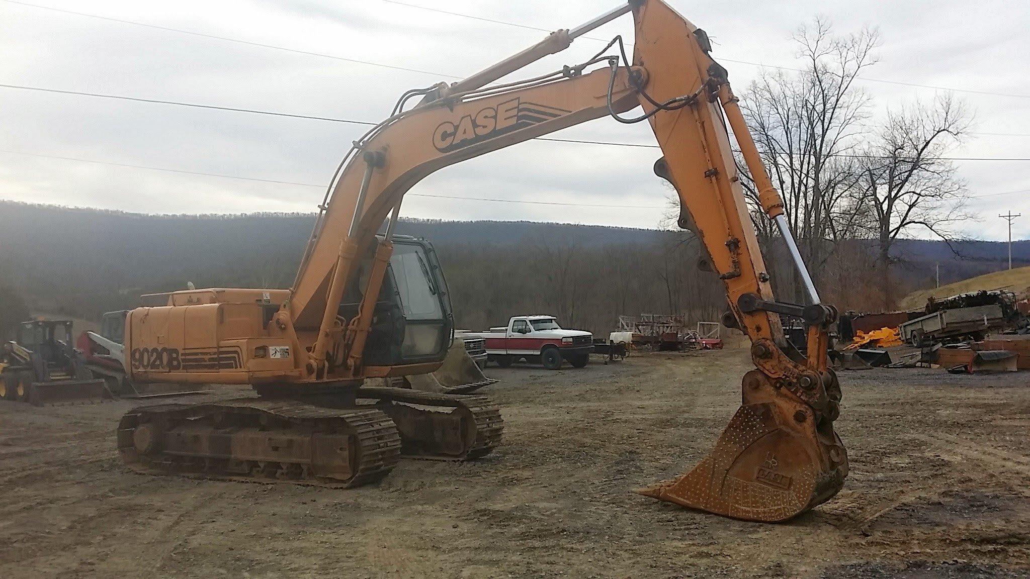 case 9020b excavator maintenance workshop service manual rh automotive manual com Case 9040 Excavator Case IH 9020