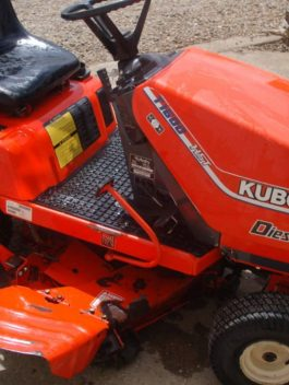 Kubota T1600 Diesel Garden Tractor Mower Workshop Service Repair Manual