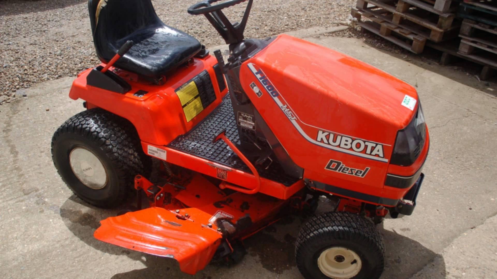 Kubota T1600 Diesel Garden Tractor Mower Workshop Service Repair Manual