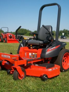Kubota ZG124E ZG123S ZG127E ZG127S Zero-Turn Mower Service Repair Manual
