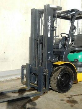 1993 KOMATSU FG30T-11E FORKLIFT TRUCK 4-WHEEL LPG WORKSHOP SERVICE REPAIR MANUAL