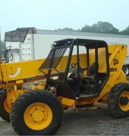 JCB 508C telehandler forklift Parts manual