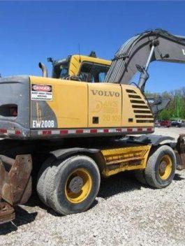 Volvo Ew200b Wheeled Excavator Full Service Repair Manual Pdf Download