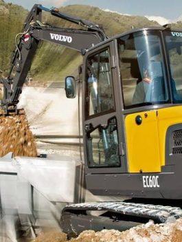 Volvo Ec60c Compact Excavator Full Service Repair Manual Pdf Download