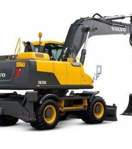 Volvo Ew210d Wheeled Excavator Full Service Repair Manual Pdf Download