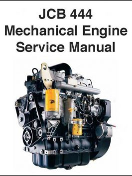 JCB 444 DIESEL ENGINE WORKSHOP SERVICE REPAIR MANUAL