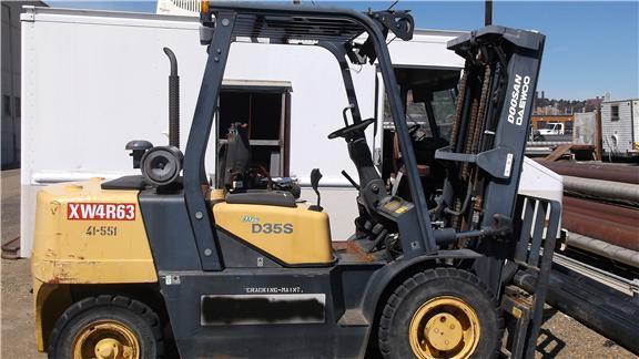 doosan lift trucks model d35s 2 operation maintenance manual rh automotive manual com D35 Lift Doosan DX140LC