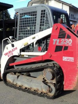 TAKEUCHI TL230 COMPACT TRACK LOADER PARTS CATALOG MANUAL  S/NO : 223101855
