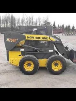 New Holland L175 2010 OWNER'S MANUAL