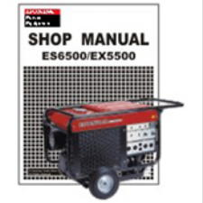 honda es6500 ex5500 generator shop manual automotive manuals rh automotive manual com honda es6500 repair manual honda es6500 generator service manual