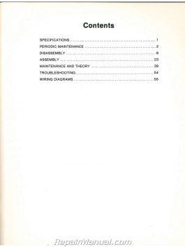 John Deere 110 Lawn Garden Service Manual SN 250,001