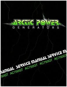 Arctic Cat 750GT Generator Shop Manual